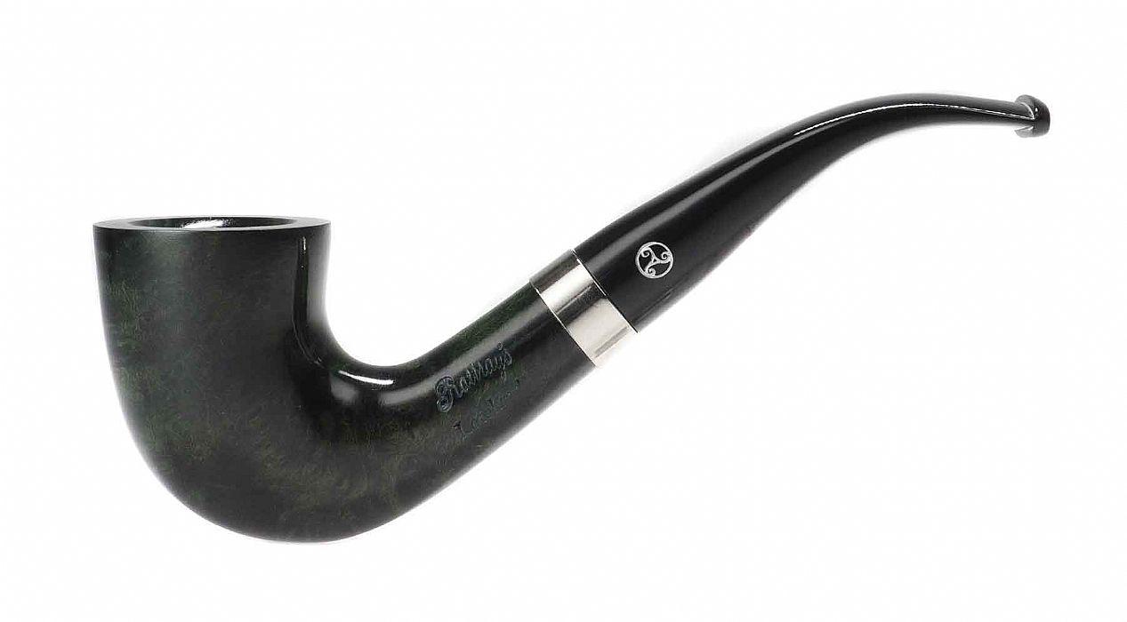 Rattrays, Lowland 48, Green Bent Dublin, 9 mm  - The Danish Pipe Shop