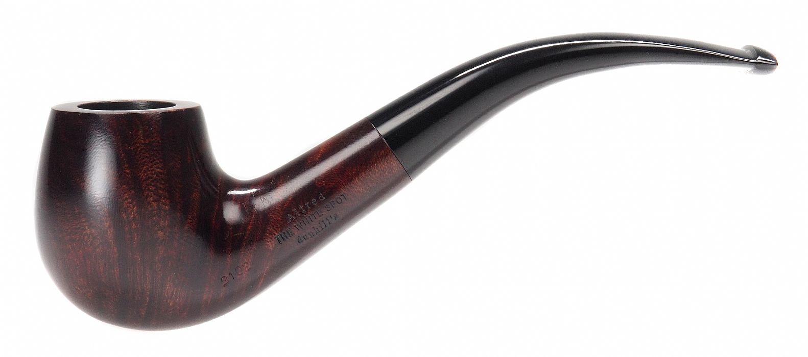 Dunhill, Bruyere 3102, Bent Billard - Dunhill - The Danish Pipe Shop